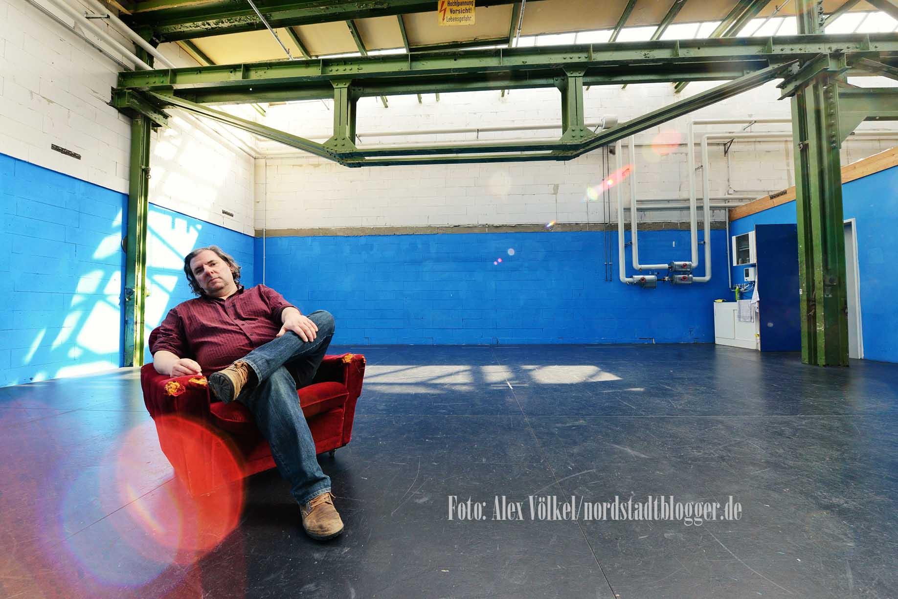 Berthold Meyer ist Leiter des Theaters im Depot. Foto: Alex Völkel