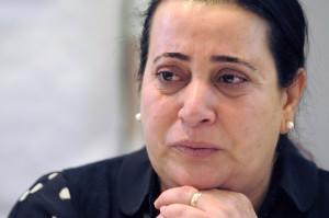 Elif Kubasik kämpft mit den Tränen