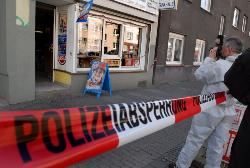 Am 4. April 2006 wurde Mehmet Kubasik in seinem Kiosk in der Mallinckrodtstraße ermordet. Archivfoto: Alex Völkel