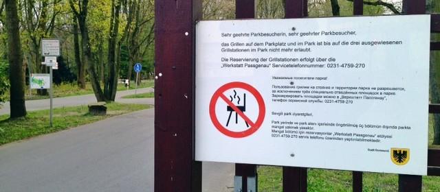 117 illegale Feuerstellen im Fredenbaumpark gezählt