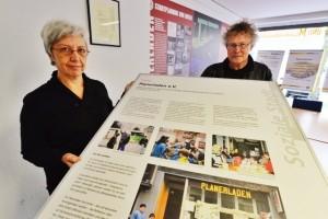 Tülin Kabis-Staubach und Prof. Dr. Rainer Staubach vom Planerladen engagieren sich seit Jahren für und in der Nordstadt. Foto: Alex Völkel