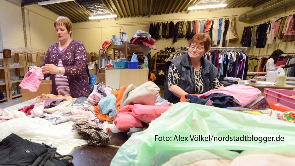 """Rund 75 Menschen haben bei """"Jacke wie Hose"""" eine Arbeits- und Qualifizierungsmöglichkeit. Foto: Alex Völkel"""