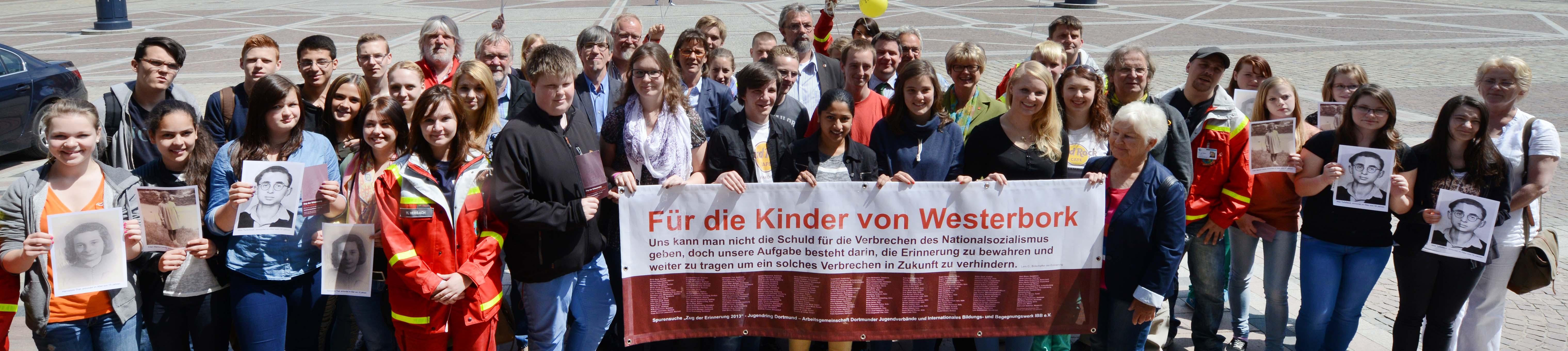 """""""Zug der Erinnerung"""" erinnert in Dortmund an die ermordeten jüdischen Kinder von Westerbork"""