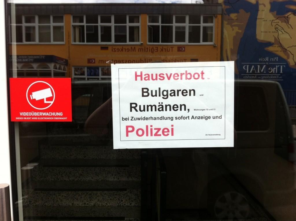 Für heftige Diskussionen sorgt das angedrohte Hausverbot für Rumänen und Bulgaren in diesem Nordstadtbetrieb. Foto: privat