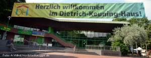 Das Dietrich-Keuning-Haus ist das Stadtteil-, Jugend- und Kulturzentrum der Nordstadt.