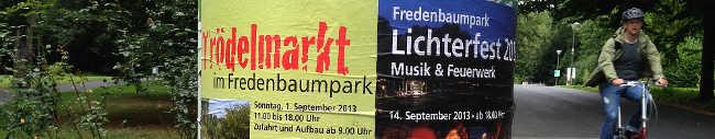 Beliebtes Lichterfest im Fredenbaumpark steigt am 14. September – Abschluss des Hafenspaziergangs