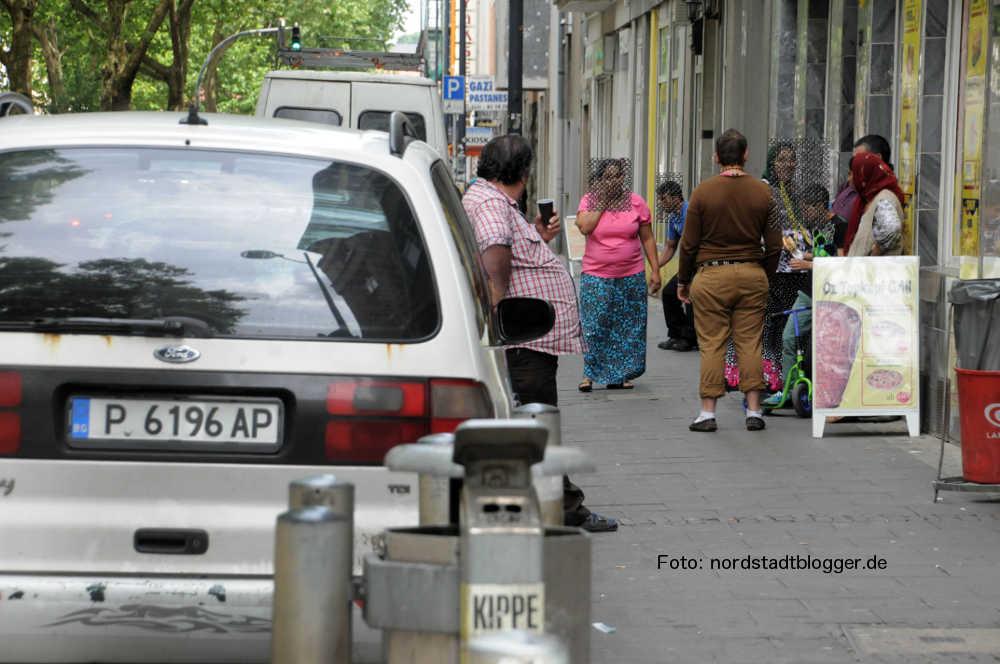 Roma in der Mallinckrodtstraße Dortmund