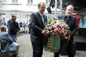 Gedenkfeier zum Antikriegstag in der Steinwache