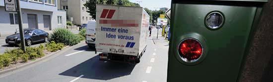 """""""Umweltblitzer"""" an der Brackeler Straße wird jetzt installiert"""