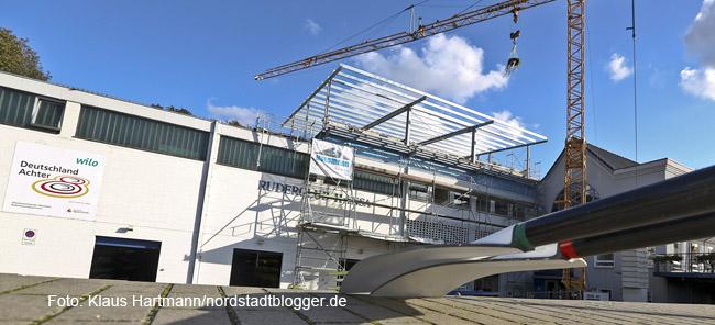 Ruderleistungszentrum am Dortmund-Ems-Kanal wird für mehr als 1,1 Millionen Euro erweitert