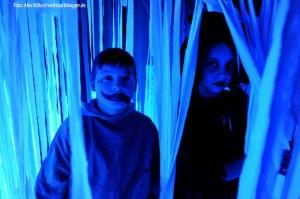 Kids in Halloween-Verkleidung. Foto: Alex Völkel