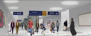 Hauptbahnhof Animation Umbau