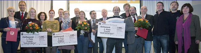 Integrationspreise für innovative Projekte verliehen – für ein vielfältiges und friedliches Zusammenleben in Dortmund