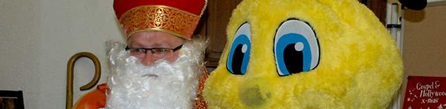 Kinderweihnachtsfeier am Borsigplatz