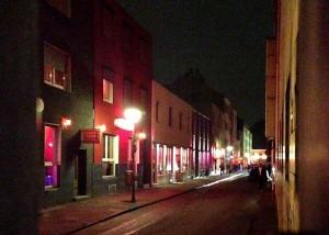Die Linienstraße mit ihren Bordellen - hier ist Prostitution erlaubt.