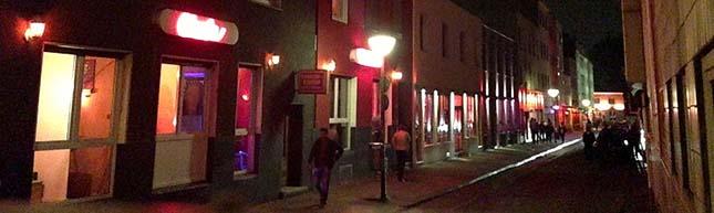 SPD-Besuch in der Linienstraße: Rotlichtmilieu der Nordstadt gilt als Vorzeigemodell für den Umgang mit Prostitution