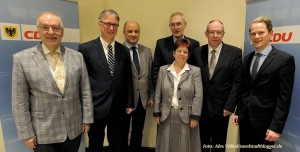 Die CDU-Spitzenkandidaten für 2014