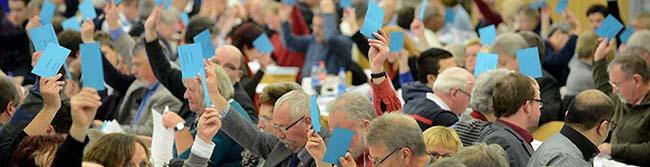 SPD und CDU formieren sich für die Kommunalwahl im Mai 2014: Zwischen Optimismus und Ratlosigkeit