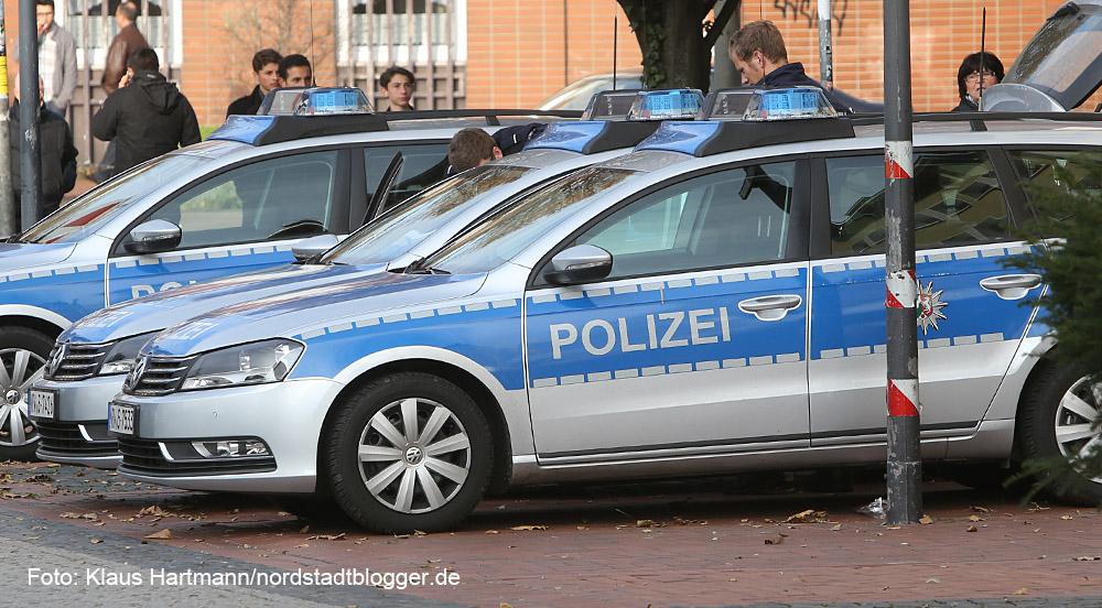 Polizeieinsatz in der Nordstadt. An der Andreaswache