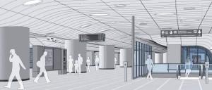 Stadtbahnstation - Animation