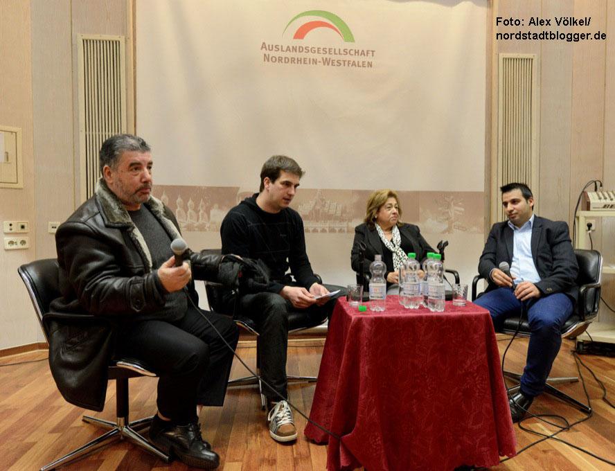 Podiumsdiskussion: Diskriminierung von Sinti und Roma