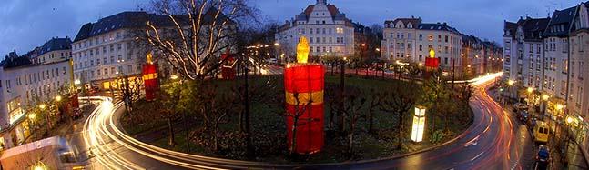 Nordstadt: Am Freitag ist Wintermarkt am Borsigplatz – und der BVB wird den Platz zum Leuchten bringen
