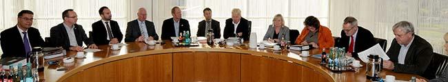 OB und die Geschäftsführer der Verbände der Freien Wohlfahrtspflege unterzeichnen Sechs-Jahres-Vertrag