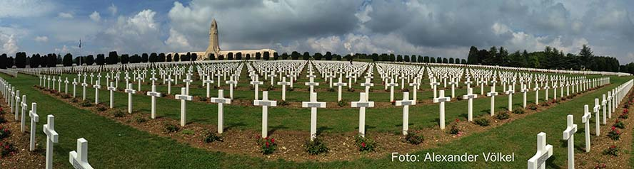 Verdun - Sinnbild für das sinnlose Gemetzel im Ersten Weltkrieg. Foto: Alex Völkel