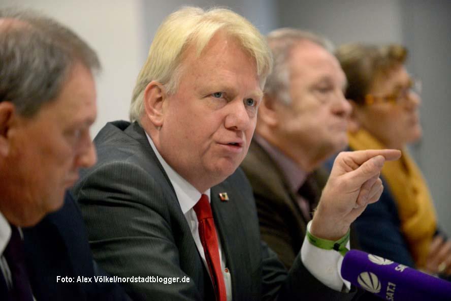 Dortmunds OB Ullrich Sierau (SPD) zur möglichen Neuwahl - SPD-PK