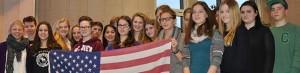 Ein Nachtreffen in der Auslandsgesellschaft machten de Dortmunder nach ihrem High-School-Aufenthalt in Buffalo. Foto: AGNRW