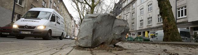Über Findlinge, CDU-Diskriminierung, schwarzarbeitende Camper und Parkprobleme in der Mallinckrodtstraße