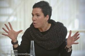 Stadt Dortmund startet Integrationsprojekt. Sozialplanerin Christine Certa
