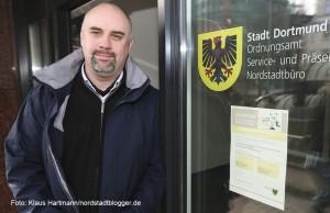 Tobias Marx, Leiter des Nordstadtbüros des Ordnungsamt