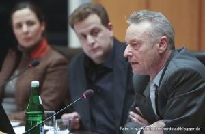 Podiumsgespräch im Ratsaal