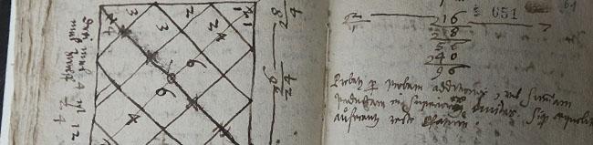Original-Manusskript aus der Zeit um 1540 von Johann Albert