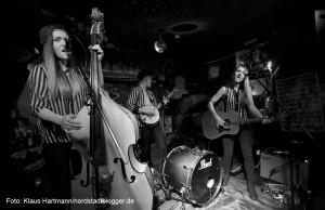 Schwedische Band Baskery im Subrosa
