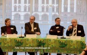 Rathaus Dortmund Podiumsdiskussion - WM Brasilien - Engagement Global