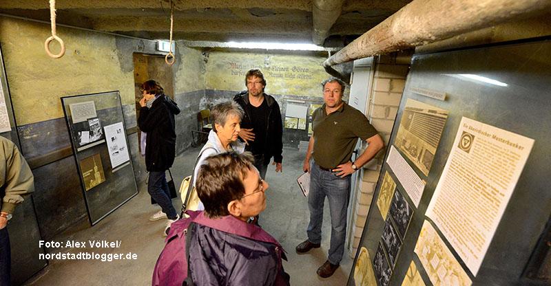 Der Bunker im Depot warim Rahmen des Tages des offenen Denkmals 2013 zugänglich. Foto: Alex Völkel