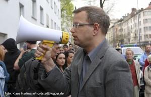 Gedenken an den Mord an Mehmet Kubasik. Anwalt der Familie Kubasik: Berliner Rechtsanwalt Carsten Ilius