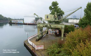 Portalkran Hafen