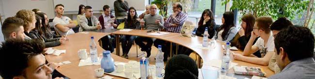 Jugendforum Nordstadt diskutiert mit engagierten Jugendlichen