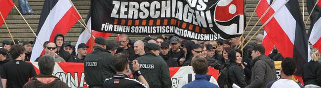 Protest gegen Neonazi-Aufmarsch am 14. April formiert sich – weder Polizei noch Rechte geben bisher die Route bekannt