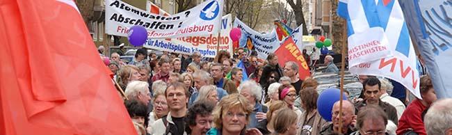 Ostermarsch Rhein-Ruhr endet heute in der Nordstadt