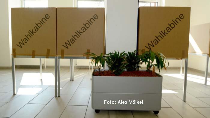 Bis zu fünf Wahlzettel können Dortmunder am 25. Mai in der Wahlkabine ausfüllen.