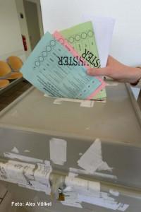 Bis zu fünf Wahlzettel können Dortmunder am 25. Mai in die Wahlurne stecken.