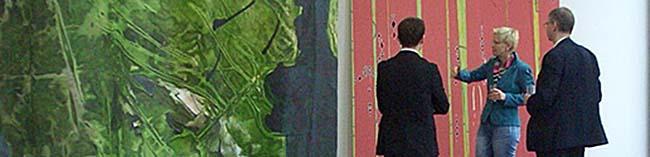 Bettina Marx sorgt für einen künstlerischen Frühlingsausbruch