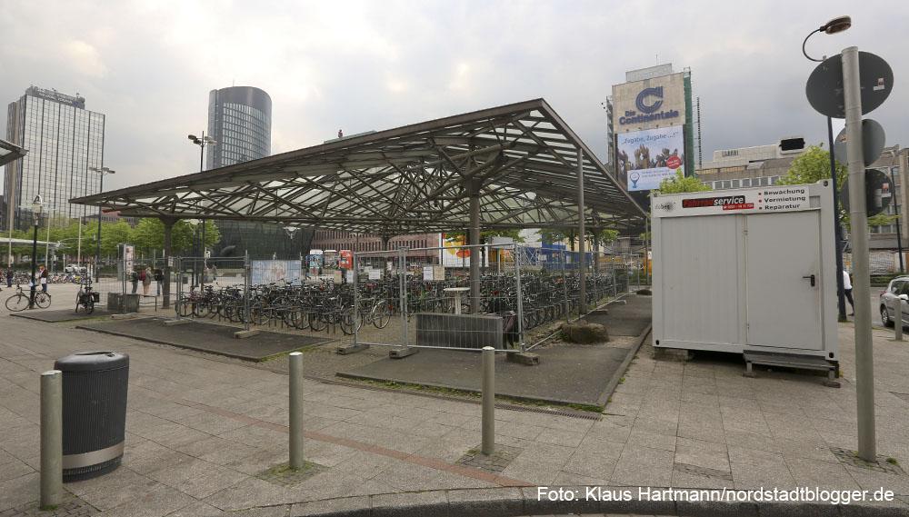 Die Radstation am Dortmunder Hauptbahnhof