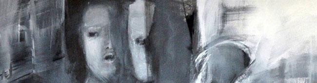 Malerei und Skulptur im Atelierhaus Westfalenhütte. Ausstellung von Yuta Streger