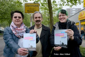 Vorbereitung auf den Neonazi-Aufmarsch in Westerfilde