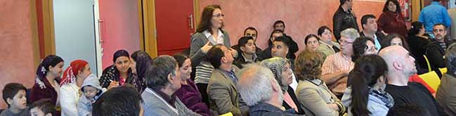 Info-Veranstaltung zur Kommunalwahl: Neuzuwanderer aus Bulgarien und Rumänien ergreifen das Wort